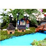 random color,mini houses,mini garden,architectural models,doll house acc... - £9.13 GBP