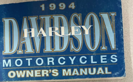 1994 Harley Davidson Touring Sportster Softail Owners Owner Operators Manual OEM - $19.75