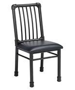 Acme Furniture 72037 Caitlin Side Chair (Set of 2), Black PU & Black - £290.00 GBP