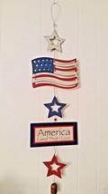 """Rustic 4th Of July Wall Plaque - 39"""" - America, Patriotic, Memorial & La... - $18.69"""