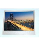 Reynard of San Francisco Private Collection Bay Bridge Postcard, Dennis ... - $8.36