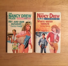 1980s Nancy Drew Files Mystery Books by Carolyn Keene image 4