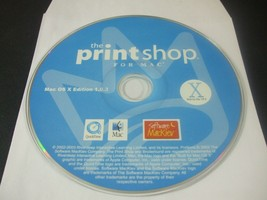 The Print Shop for Mac (MAC, 2003) - Disc Only!!! - $23.75