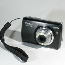 Vivitar ViviCam S332 16.0mp Digital camera - Black works with faults - $13.86