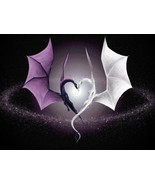 Dragon Love Home Decor Canvas Print A4 Size (210 x 297mm) - $5.63