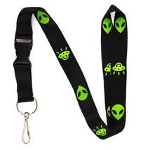 Alien & UFO Lanyard Keychain and ID Holder with Detachable, Breakaway Bu... - $7.99