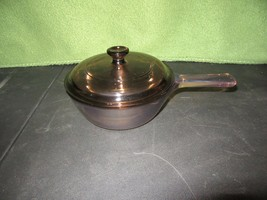 Vision Corning USA .5L Amber Sauce Pan With Lid - $14.95