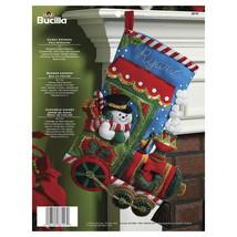"Bucilla Felt Stocking Applique Kit 18"" Long-Candy Express - $26.77"