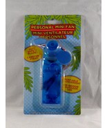 Personal Mini Fan Soft Blades Carrying Strap - New - Blue - $6.64