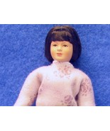 Dollhouse Dressed Caco Lady DHS0084 Flexible Modern Pink Sweater Miniature - $41.30