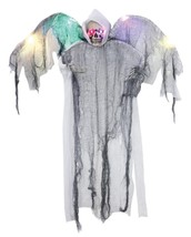 Reaper Prop Hanging White Winged Skeleton Haunted House Yard Halloween S... - $42.99