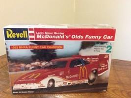 NEW Revell 1:24 Scale Model #7353 - Larry Minor McDonalds Olds Funny Car... - $34.95