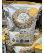One Degree Organic Foods-Organic Sprouted Rolled Oats 5 lbs (80oz) GLUTE... - $28.00