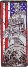 Marvel Comics Extreme Captain America Flag Patch, NEW UNUSED - $5.94