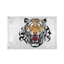 Flag Decorations Angry Irritated Tiger King Animal Custom Decor Flags - $24.99