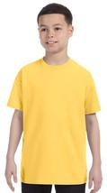 Jerzees Youth Heavyweight T-Shirt - 29B - Island Yellow - ₹228.43 INR