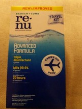 BAUSCH & LOMB RE-NU ADVANCED FORMULA TRAVEL KIT - CARRY-ON SIZE - 2 FL. OZ. - $6.44