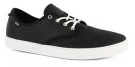 VANS Ludlow (Dots) Black Leather Classic Sneakers MEN'S 6.5 WOMEN'S 8 - $44.95