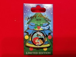 Disney Pin Happy Hoidays 2019 Resort Bell Beach Club Princess Ariel Eric... - $34.99