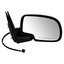 Fits 99-02 Silverado / Sierra Right Pass Mirror Power Textured Blck Fold No Heat - $52.95