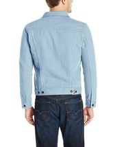 Levi's Men's Multi Pocket Button Up Denim Trucker Jacket Sky Blue 723340277 image 2