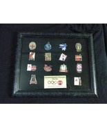 Complete Set of 14 Commemorative Olympic Coke Coca Cola Pins 1996 - $19.97