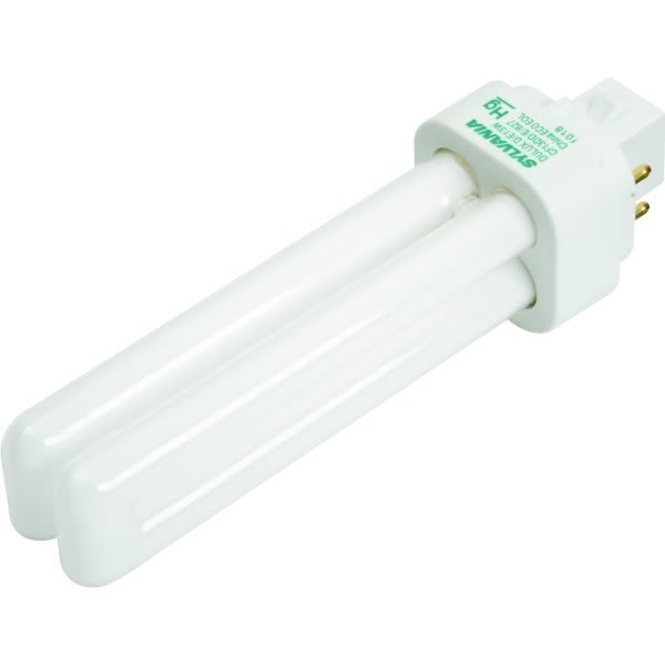 Primary image for Sylvania 13 Watt Quad Compact Fluorescent Bulb, 4,100 Kelvin, G24Q-1 Base