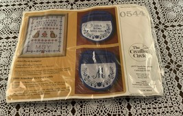 Brand New Embroidery Kit 0544 Creative Circle  First Sampler Cats For Ch... - $11.49