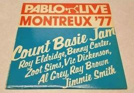 Count Basie Jam PABLO LIVE Montreux 77 RECORD ALBUM VG++ 2308 209 Vinyl ... - $5.89