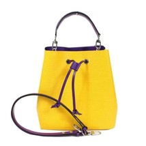 Louis Vuitton Neonoe Epi Bag Yellow Shoulder handbag M54369 - $2,623.50