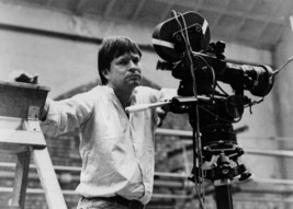 Terry Gilliam on set filming Brazil posing with camera 5x7 inch publicit... - $5.75