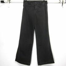 JUICY COUTURE WOMEN'S FLARE LEG (Sz 4) W30 L33 BROWN JEANS PANTS FLAP PO... - $5.37