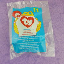 TY Teenie Beanie Baby Waddle Penguin Toy Animal 1998 Mcdonalds #11 - $7.92