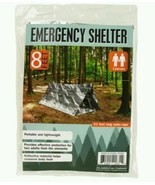 Emergency Shelter Blanket Reflective Tent 2 Person Camping Survival Bug ... - $7.98