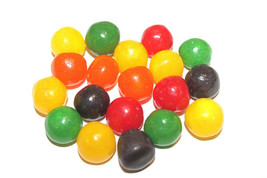Assorted Fruit Sours Chewy Candy Balls, 1LB - Free Shipping - $12.51