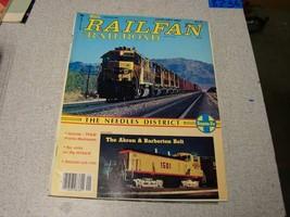 Railfan Railroad  magazine January 1984 - $6.44