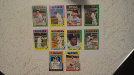 1975 Topps Mini (Parallel)..Lot of 10...VG++ or better Condition...Look!! - $21.25
