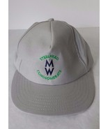 Fisherman Steelhead Conglomerate MW Trout Baseball Cap Pro Shop Line Gray  - $17.81
