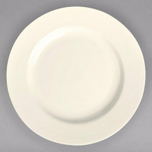 "Lot of 4 Homer Laughlin 9"" Ivory (American White) Rolled Edge China Plat... - $19.99"