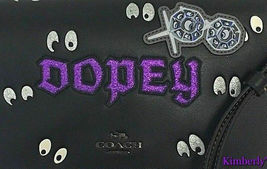 Coach Disney Dopey Snow White Dark Fairy Tale Crossbody Bag NWT image 7