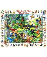 White Mountain Puzzles Birds Of The Back Yard Jigsaw Puzzle 1000 Pc NEW ... - $28.70