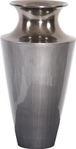 Vase Howard Elliott Flared Large Brushed Accents Metallic - $159.00
