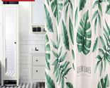 G banana leaves shower curtain waterproof mildew home bathroom curtain custom made thumb155 crop