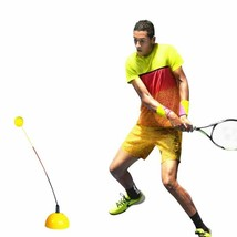 Portable Tennis Training Ball Stereotype Swing Tool Trainer Practice Beg... - $41.14