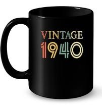 Retro Vintage 1940 78 yrs old Bday 78th Birthday Gift Coffee Mug - $13.99+
