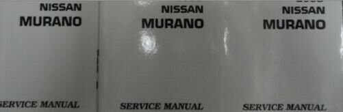 Primary image for 2006 Nissan Murano Service Reparatur Shop Manuell 4 Volume Fabrik OEM Look Große