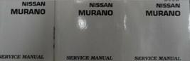 2006 Nissan Murano Service Reparatur Shop Manuell 4 Volume Fabrik OEM Lo... - $395.99