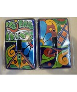 "Mosaics by ""J""- Light Switch Plates. Custom one of a kind. - $16.74"