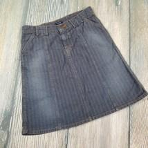 American Eagle Outfitters Sz 2 Womens Grayish Brown Jean Skirt Euc (LB04) - $4.95