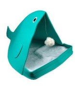 ComfortabIe Soft Interactive Cozy Kitty Cat Pet House Cave Bed Lounger Toy - $24.74